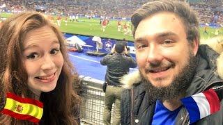 FRANCE - ESPAGNE ( 0-2 ) ! VLOG avec DavidLafargePokémon au Stade de France !