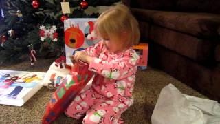 getlinkyoutube.com-Samantha's Christmas gift...tickets to the Fresh Beat Band concert.