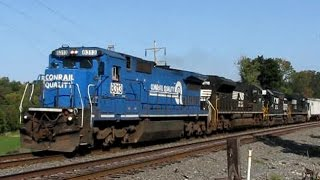 getlinkyoutube.com-Trains on the Norfolk Southern Harrisburg Line 2008: Volume 5