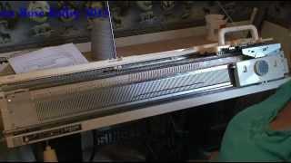 getlinkyoutube.com-Adding your Studio Ribber to your Knitter