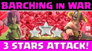 getlinkyoutube.com-Clash Of Clans: Barching In War | 3 Stars Attack