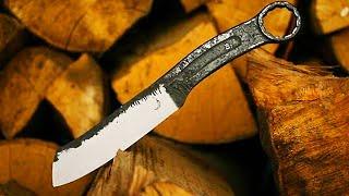 getlinkyoutube.com-Trollsky knifemaking - A knife made from old wrench
