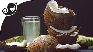 How to Crack Open a Mature Hard Shell Coconut and Remove the Flesh