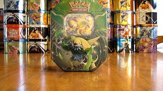 getlinkyoutube.com-Pokemon Chesnaught EX Tin Opening (Nice Pull!)