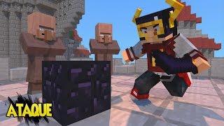 Minecraft: DEFENSE - ATAQUE PELAS MONTANHAS ‹ AM3NIC ›