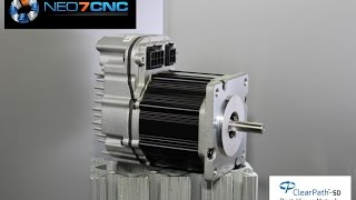 getlinkyoutube.com-Homemade DIY CNC - (AUDIO Corrected) ClearPath Servo Motors used on KR33 CNC - Neo7CNC.com