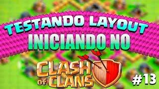 getlinkyoutube.com-Testando Layout CV 6 - Iniciando no Clash of Clans #13