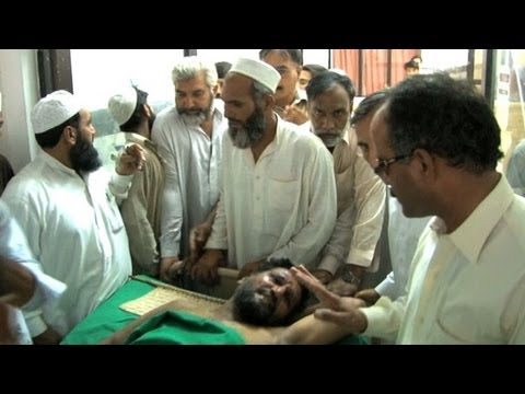 Suicide bomber kills dozens at Pakistan funeral