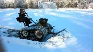 getlinkyoutube.com-Мотоблок зима