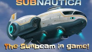 getlinkyoutube.com-THE SUNBEAM! | Subnautica news #31 /-Subnautica gameplay