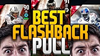 BEST FLASHBACK PULL! MADDEN 16 AMAZING PACK OPENING