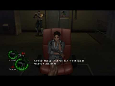 Resident Evil 5 - Special Cutscenes and Events