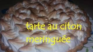 getlinkyoutube.com-melissa kahina Tarte a la créme au citron تارت الليمون  بطريقة جد بسيطة