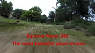 getlinkyoutube.com-Eachine Racer 250 flies in the most beautiful place for FPV Race