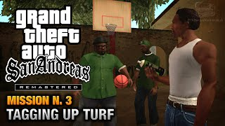 GTA San Andreas Remastered - Mission #3 - Tagging up Turf (Xbox 360 / PS3)