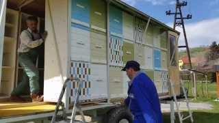getlinkyoutube.com-MrBee-jev MED - izdelava prevoznega čebelnjaka