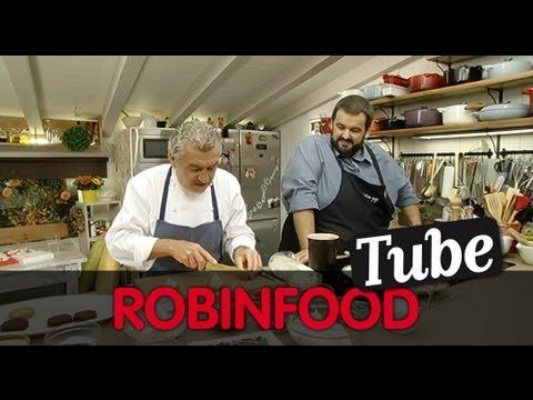 ROBINFOOD / Sablé bretón + Mousse de chocolate rápido