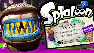 getlinkyoutube.com-Splatoon Wii U BOSS Octomaw! Final World Single Player Story Mode Gameplay Walkthrough PART 8 HD