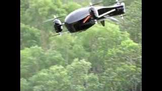 getlinkyoutube.com-MULTIROTOR AIRCRAFT  Y6 Tricopter  V-4 V-tail