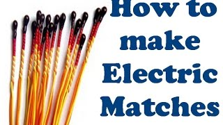getlinkyoutube.com-How to make an easy electric igniter (How to make Electric Matches)
