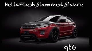 getlinkyoutube.com-Gran Turismo 6 Tuning : Hellaflush/Stance/slammed - Range Rover Evoque `13 [gt6]