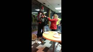 Fight over pizza in bc Canada (original)
