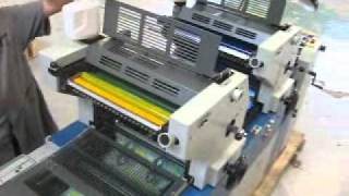 getlinkyoutube.com-Apolo - Impressora Offset Mirage Bicolor P247 - Maquinas Graficas