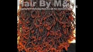 getlinkyoutube.com-My Sisterlocks Hair Styles  Part 2 My Hair Journey #41