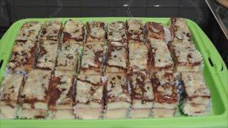 getlinkyoutube.com-Prăjitură cu budincă de vanilie şi glazură de ciocolată