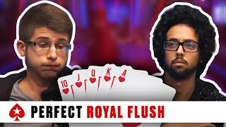 Royal Flush at the 2016 PCA - Huge Three-Way Pot
