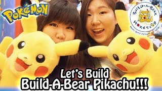 getlinkyoutube.com-Let's Build Build-A-Bear BAB Pokemon Pikachu!! With Jenny!!