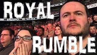 WWE ROYAL RUMBLE MATCH 2016  LIVE REACTION
