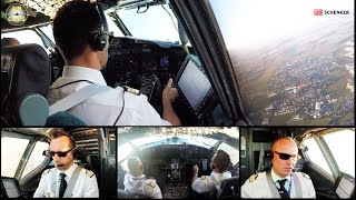 B737-400SF ULTIMATE COCKPIT MOVIE, FULL ATC!!! ASL Airlines France [AirClips full flight series]