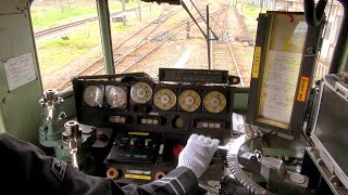 getlinkyoutube.com-Cab Ride on Japanese Electric Locomotive - JR Freight Class EF81