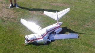 getlinkyoutube.com-RC DC-9 Fatal Crash