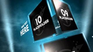 Glass Cubes Intro Ver.2 | Sony Vegas Template