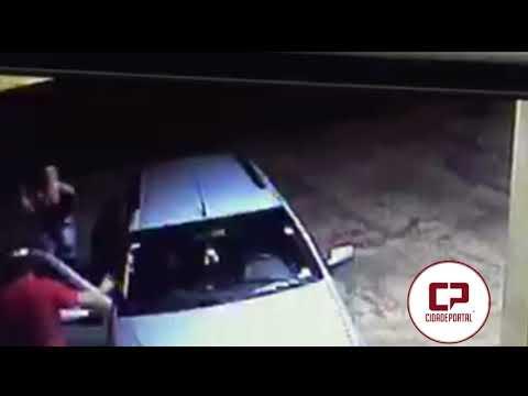 Vídeo: Acusado de desferir a facada em Rogério Teodoro Santos, ficou esperando no pronto socorro para terminar o serviço