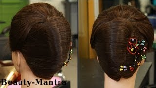 getlinkyoutube.com-Hairstyle French Roll