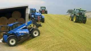 getlinkyoutube.com-Kukurydza 2013-kiszonka na podlasiu! 3xClaas, 5xNew Holland, 4xJohn Deere. Maize Silage! FULL HD!