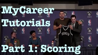getlinkyoutube.com-NBA 2K16 My Career Tutorial : How to Score My Career Guide : Unstoppable Offense Pace Motion #22