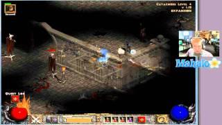 Diablo 2 Lord of Destruction - Paladin Walkthrough - Act 1.13 - Andariel