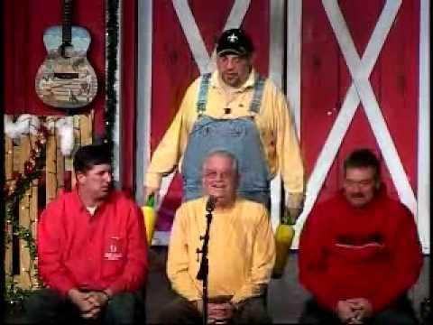 Dad at Comedy Barn