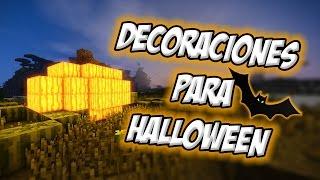 getlinkyoutube.com-Top 5 | Las Mejores Decoraciones De Minecraft para Halloween | Tutorial