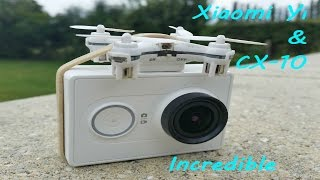 getlinkyoutube.com-Cx-10 nano drone and gopro camera - Incredible very powerful mini drone - incroyable cx10c cx-10c
