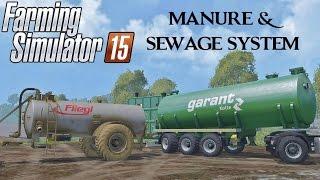 getlinkyoutube.com-Farming Simulator 15 Manure e Sewage System