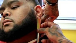 getlinkyoutube.com-SKIN TAPER WITH FULL BEARD