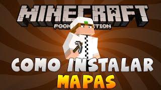 getlinkyoutube.com-COMO BAIXAR E INSTALAR MAPAS NO MINECRAFT PE (Pocket Edition)