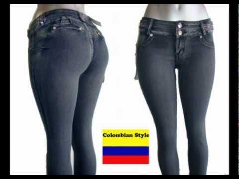 Jeans Colombianos Levanta Pompis De Dama (Fashion Yanith)..ENVIO GRATIS