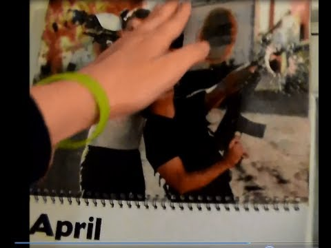 VEDA: Men Of YouTube Calendar - April