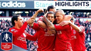 getlinkyoutube.com-Liverpool 2-1 Man Utd - Official Highlights and Goals | FA Cup 4th Round Proper 28-01-12